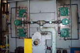 Completed Burner Upgrade Prior to Pipe Insulation