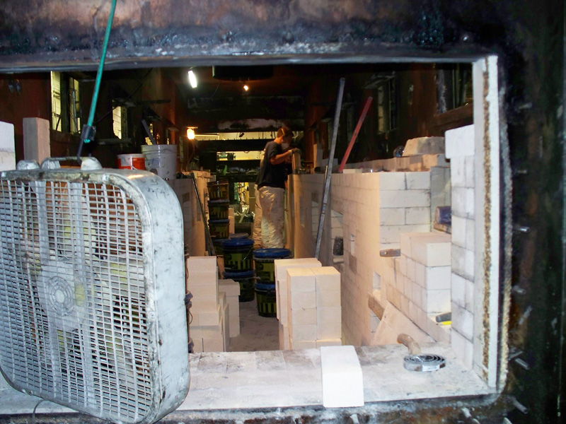 Cast Link Belt Furnace, Prior to Rebuild